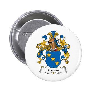 Escudo de la familia de Gamm Pins