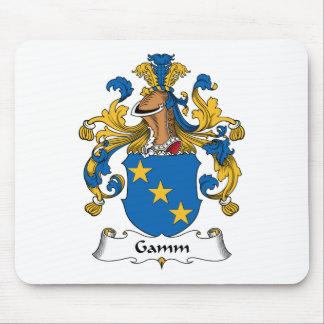 Escudo de la familia de Gamm Tapete De Ratones