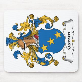 Escudo de la familia de Gamm Tapete De Raton