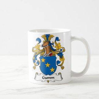 Escudo de la familia de Gamm Tazas