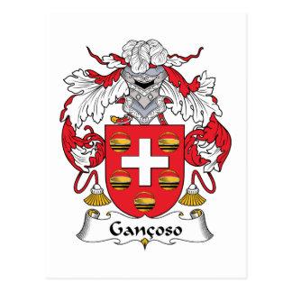 Escudo de la familia de Gancoso Postales