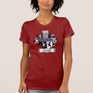 Escudo de la familia de Gandolfi Camisetas