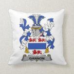 Escudo de la familia de Gannon Cojin
