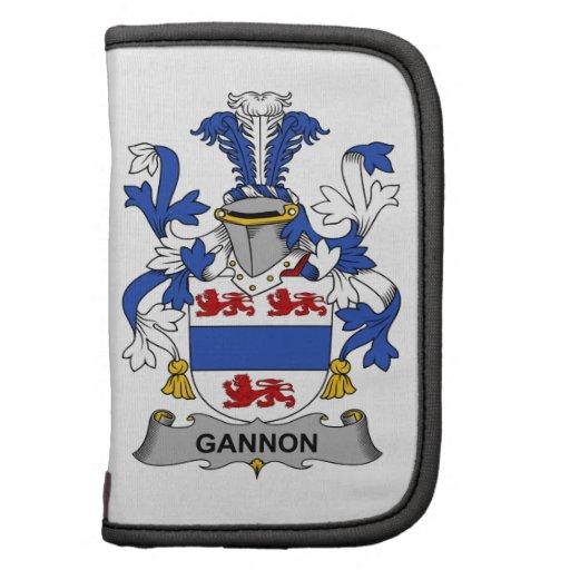 Escudo de la familia de Gannon Planificador