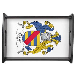 Escudo de la familia de Gant Bandejas