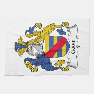 Escudo de la familia de Gant Toallas De Mano
