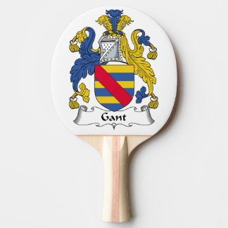 Escudo de la familia de Gant Pala De Tenis De Mesa
