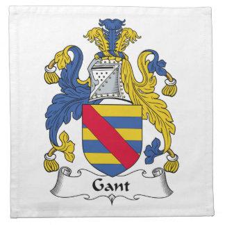 Escudo de la familia de Gant Servilletas