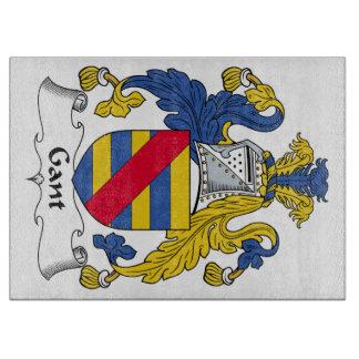 Escudo de la familia de Gant Tablas Para Cortar