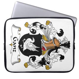 Escudo de la familia de Ganz Fundas Computadoras