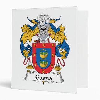 Escudo de la familia de Gaona