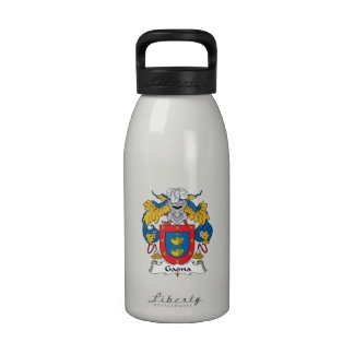 Escudo de la familia de Gaona Botella De Beber