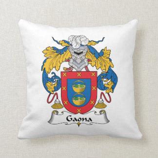 Escudo de la familia de Gaona Cojines