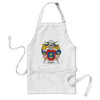 Escudo de la familia de Gaona Delantales