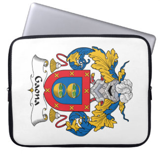 Escudo de la familia de Gaona Fundas Computadoras