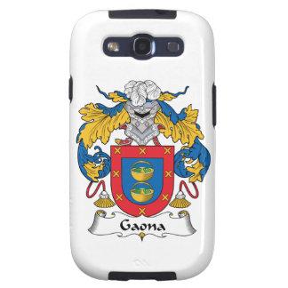 Escudo de la familia de Gaona Galaxy S3 Cobertura