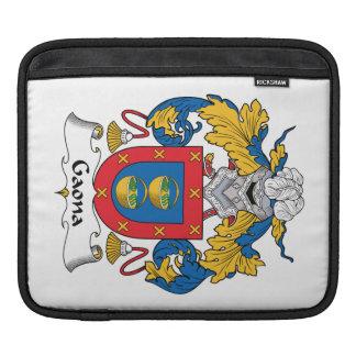 Escudo de la familia de Gaona Manga De iPad