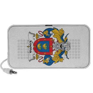 Escudo de la familia de Gaona Mp3 Altavoces