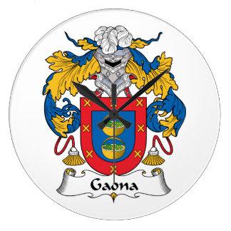 Escudo de la familia de Gaona Reloj