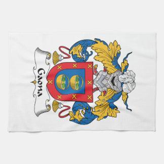 Escudo de la familia de Gaona Toalla