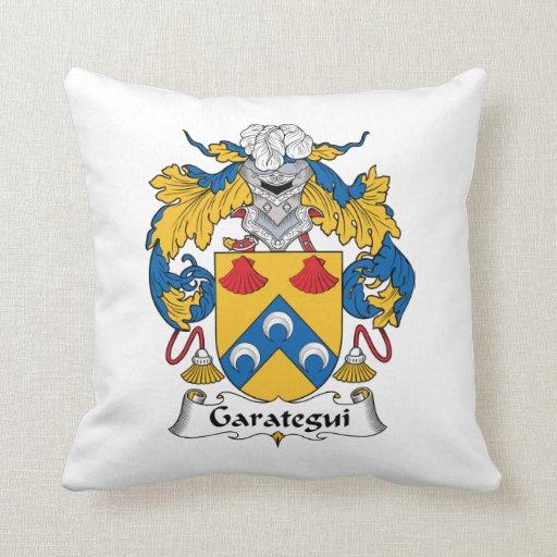 Escudo de la familia de Garategui Almohada