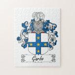 Escudo de la familia de Garbo Puzzles