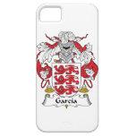 Escudo de la familia de García iPhone 5 Case-Mate Carcasas