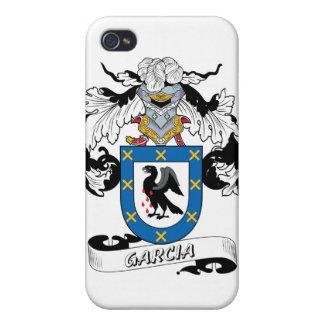 Escudo de la familia de García iPhone 4 Protectores