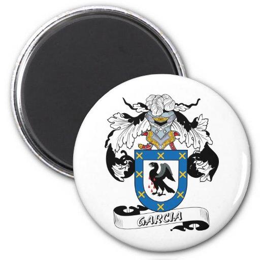 Escudo de la familia de García Imán Redondo 5 Cm