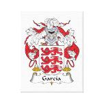 Escudo de la familia de García Impresión En Lona