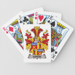 Escudo de la familia de Gardie Baraja Cartas De Poker