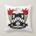 Escudo de la familia de Gardiner Cojin