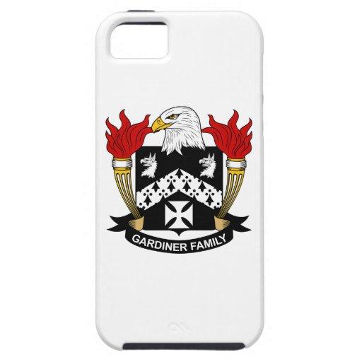 Escudo de la familia de Gardiner iPhone 5 Case-Mate Cobertura