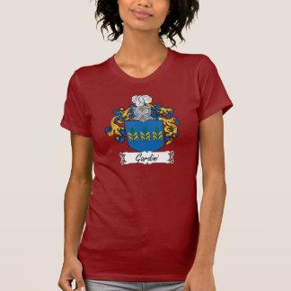 Escudo de la familia de Gardini Camiseta