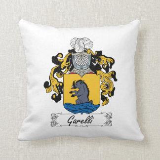 Escudo de la familia de Garelli Cojín