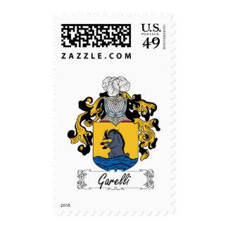 Escudo de la familia de Garelli Sellos