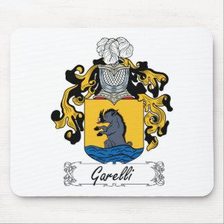 Escudo de la familia de Garelli Alfombrillas De Ratón