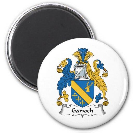 Escudo de la familia de Garioch Imán De Nevera