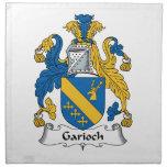 Escudo de la familia de Garioch Servilletas De Papel