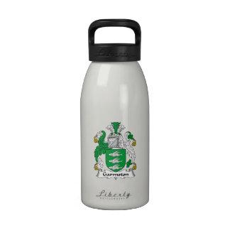 Escudo de la familia de Garmston Botella De Agua