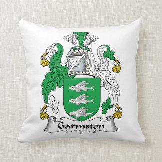 Escudo de la familia de Garmston Cojin