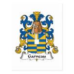 Escudo de la familia de Garneau Postal