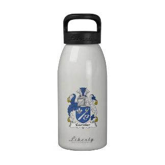 Escudo de la familia de Garnier Botellas De Agua Reutilizables