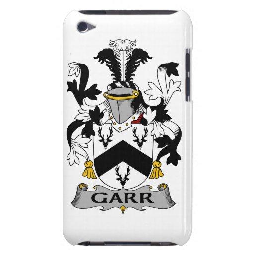 Escudo de la familia de Garr iPod Touch Case-Mate Funda