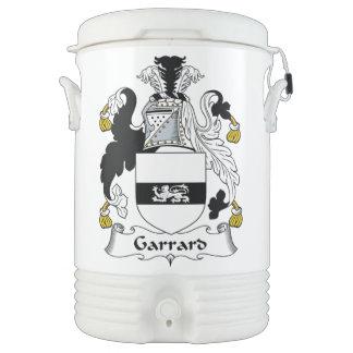 Escudo de la familia de Garrard Refrigerador De Bebida Igloo