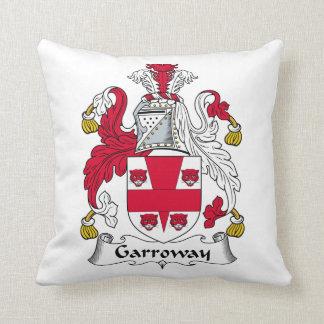 Escudo de la familia de Garroway Cojín