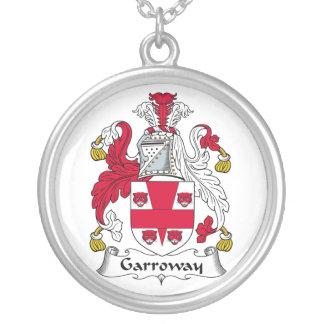 Escudo de la familia de Garroway Colgante Redondo