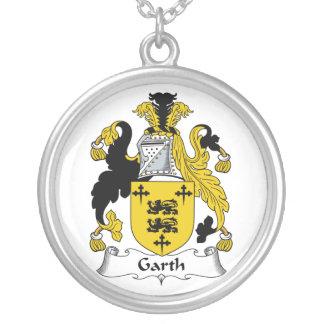 Escudo de la familia de Garth Colgante Personalizado