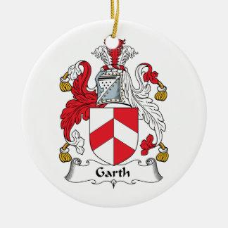 Escudo de la familia de Garth Ornamento De Reyes Magos