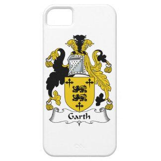 Escudo de la familia de Garth iPhone 5 Protector